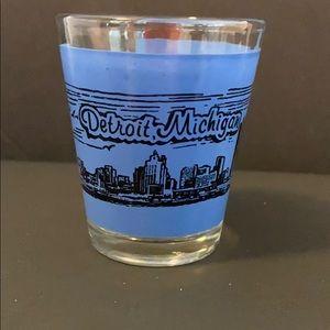 Detroit Souvenir Shot Glass